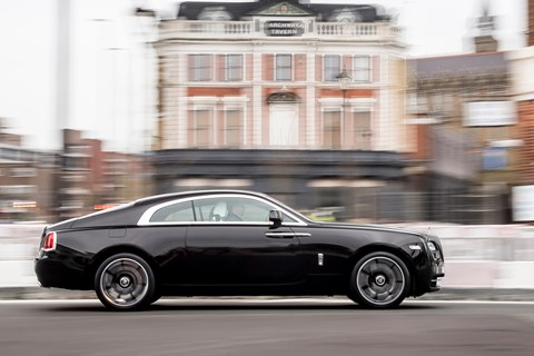 Rolls-Royce Wraith Inspired by British Music Sir Ray Davies
