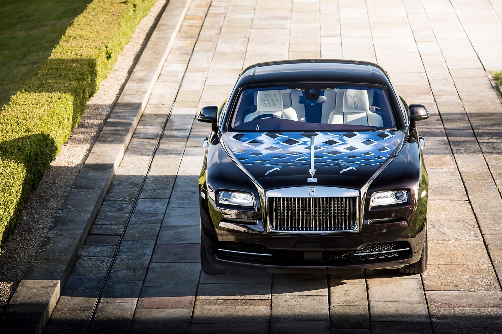 ... Rock 'n' Roller: Rolls-Royce Wraith 'Inspired by British Music' ...