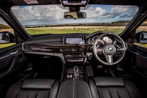 BMW X5 cabin