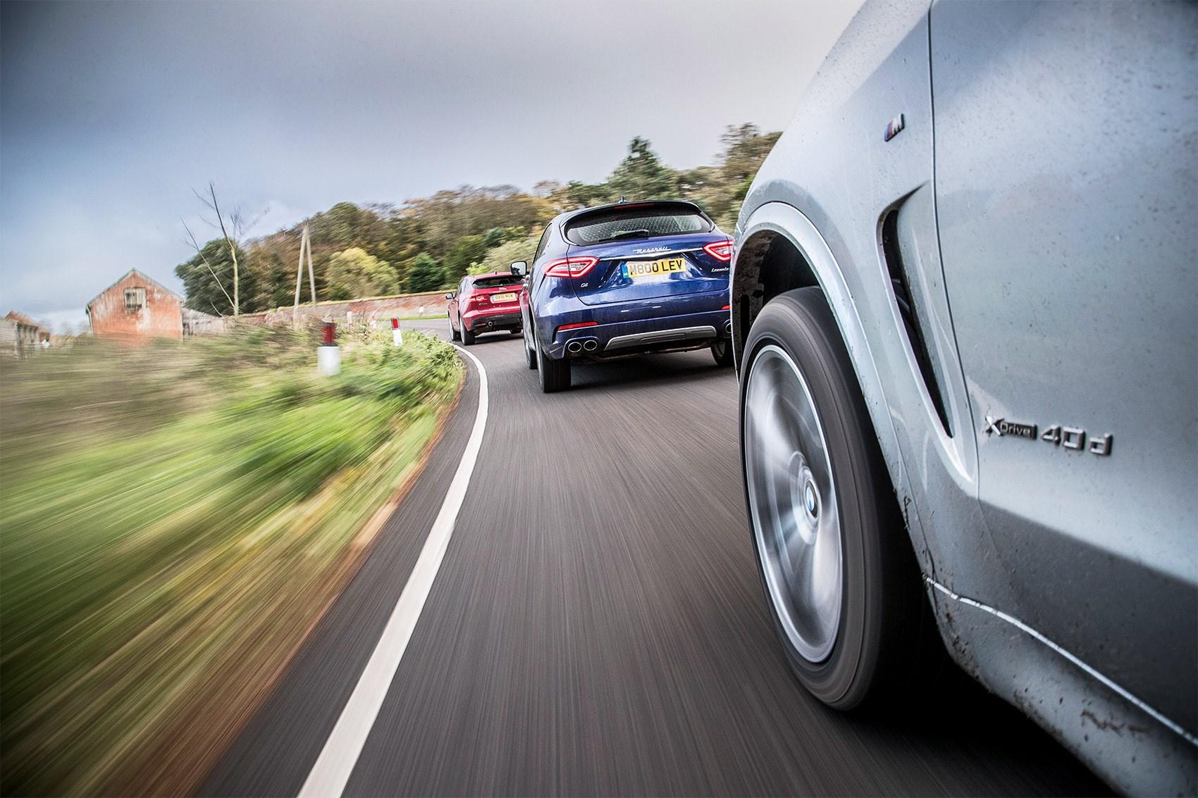 Maserati Levante Vs Jaguar F Pace Bmw X5 2017 Review Car Magazine Cetak Foto Ukuran 24r Salon Which Would You Pick