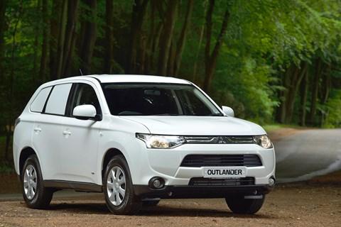 Mitsubishi Outlander van