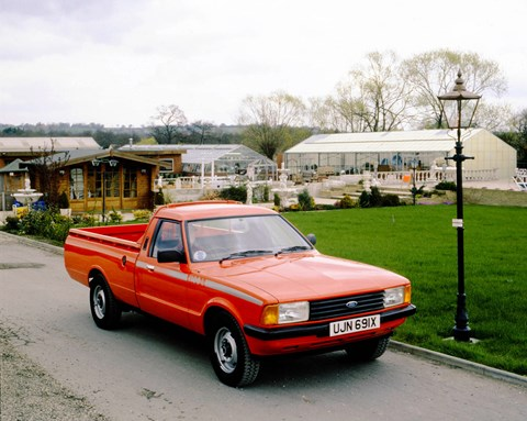 The Ford Cortina based van