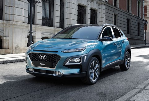 Hyundai Kona: a new small SUV - and an electric one will launch in 2018