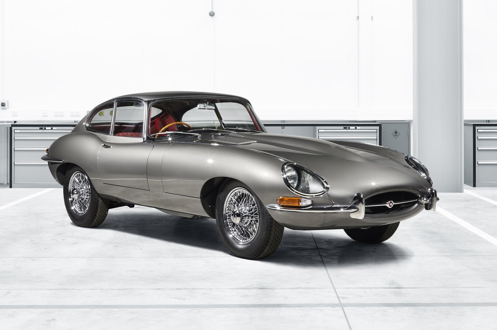 time travelling in style jaguar launches e type reborn service by car magazine. Black Bedroom Furniture Sets. Home Design Ideas