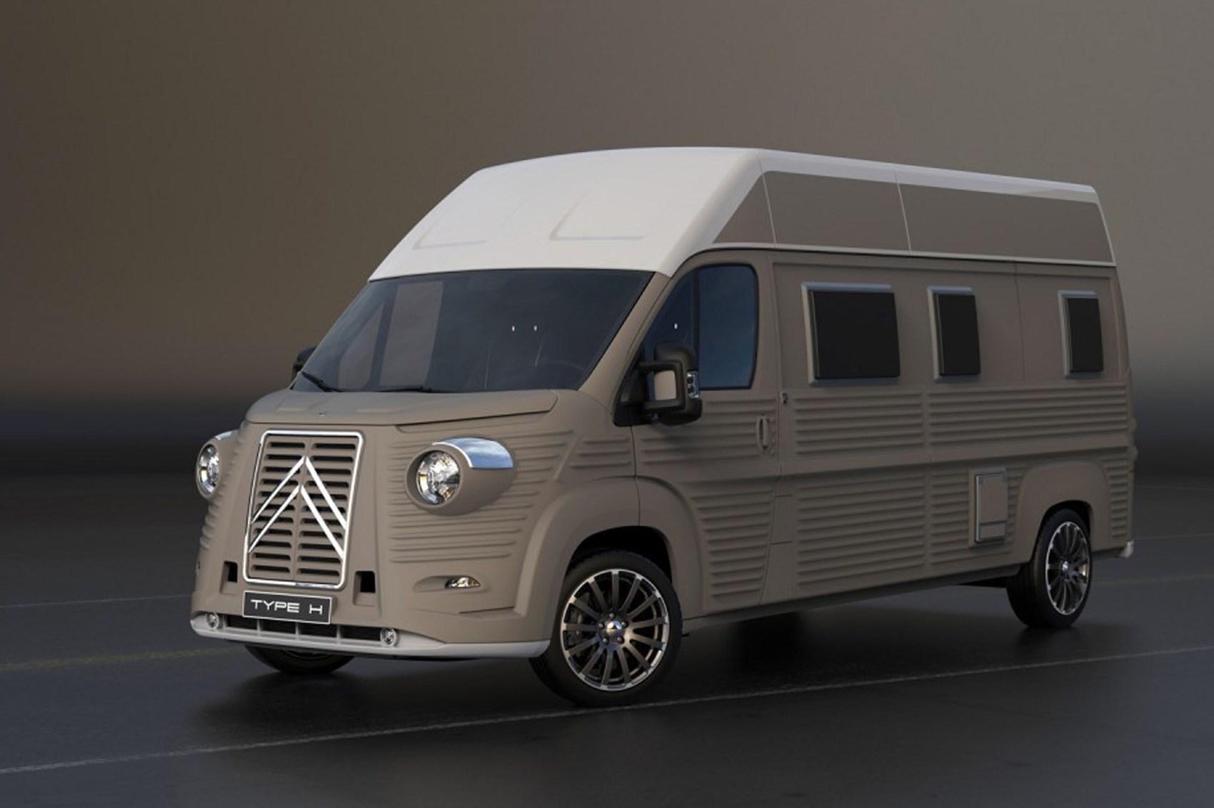 Citroen Relay Transformed Into Retrotastic H Van By Car