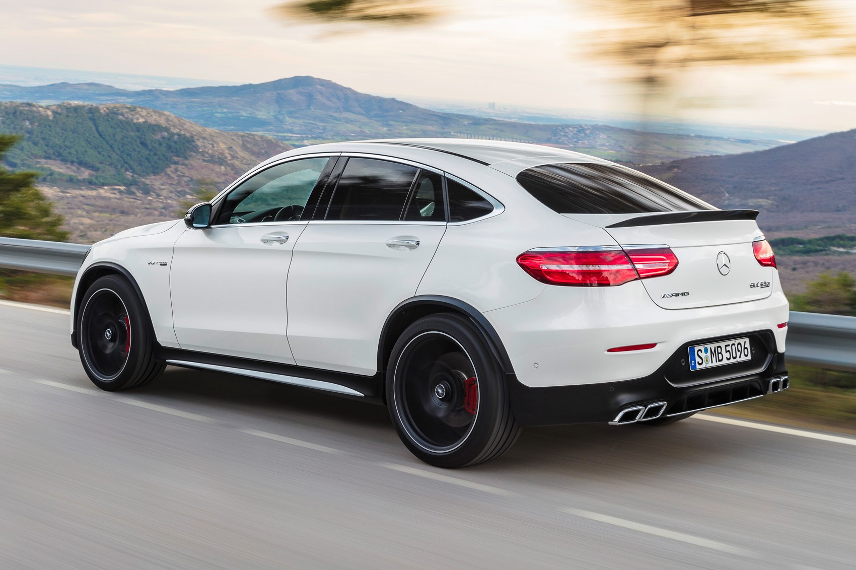 New Mercedes Amg Glc 63 Ott Suv On Sale Now By Car Magazine