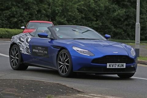 Aston Martin DB11 Volante with 4.0-litre V8 AMG power