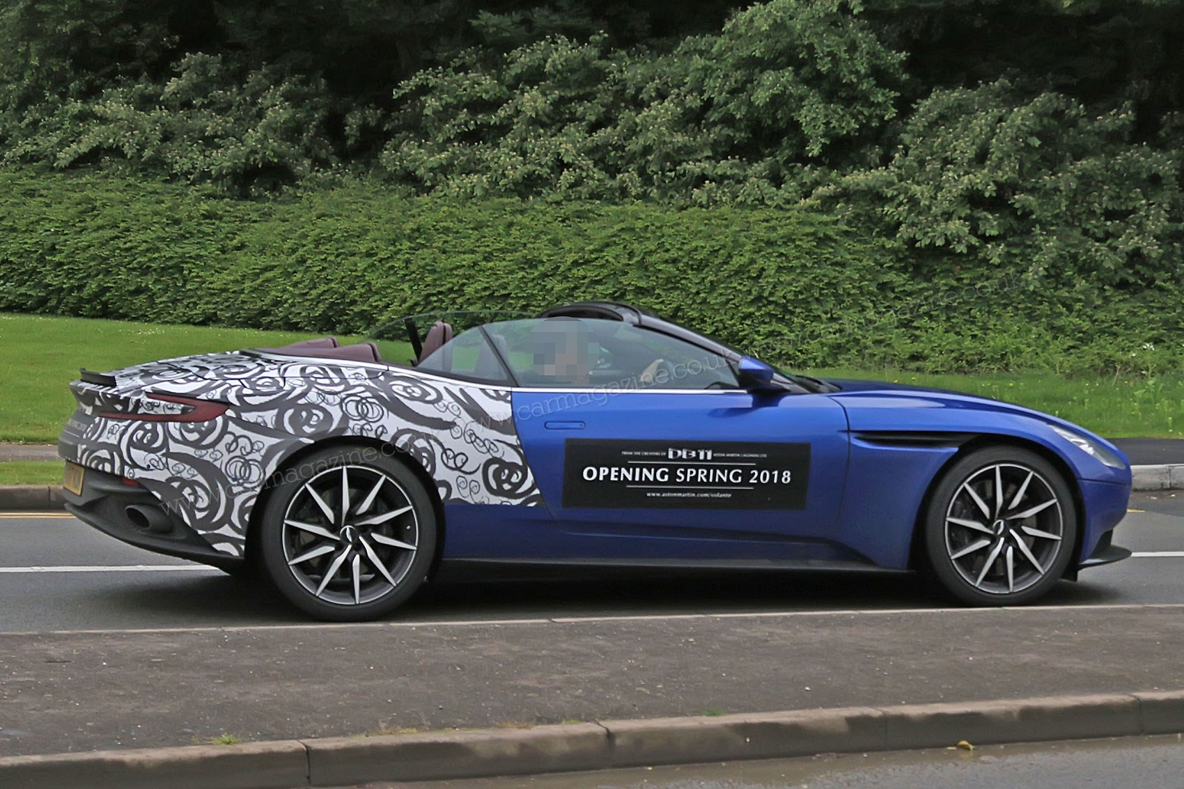 When prototypes become mobile billboards: Aston Martin ...