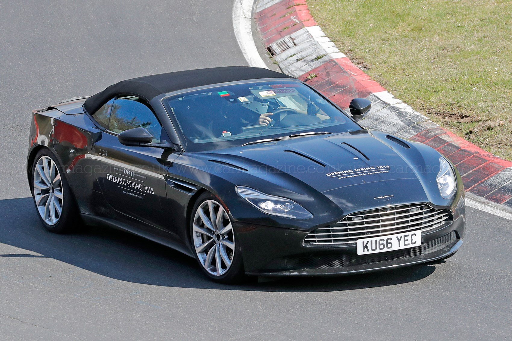 when prototypes become mobile billboards: aston martin db11