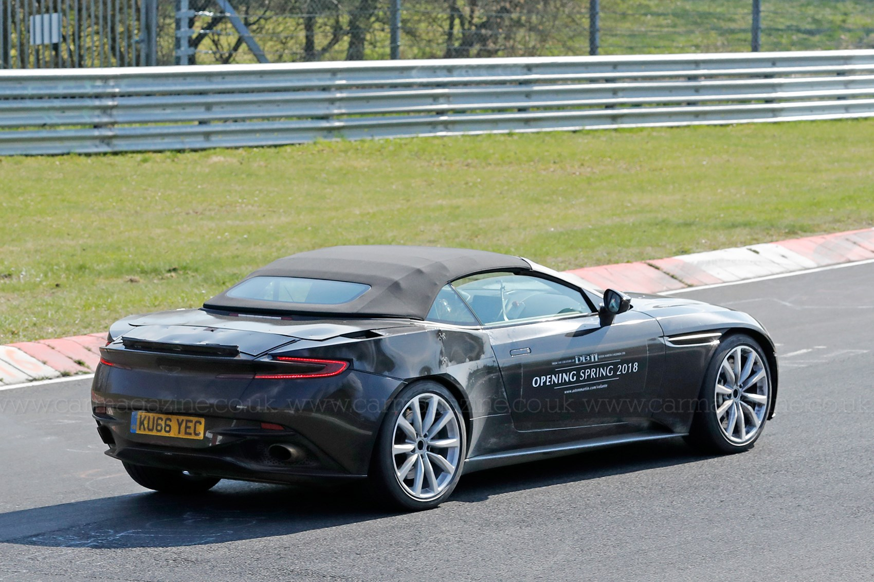 When Prototypes Become Mobile Billboards: Aston Martin