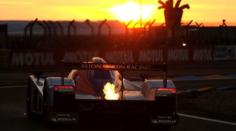 Sunset at Le Mans: priceless