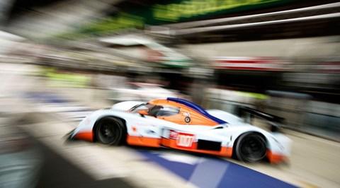 Aston Martin LMP1 007 pits