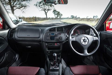 Mitsubishi Evo VI Makinen interior