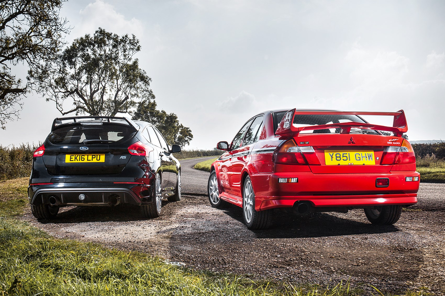 Icon buyer: new Ford Focus RS vs used Mitsubishi Evo VI by CAR Magazine