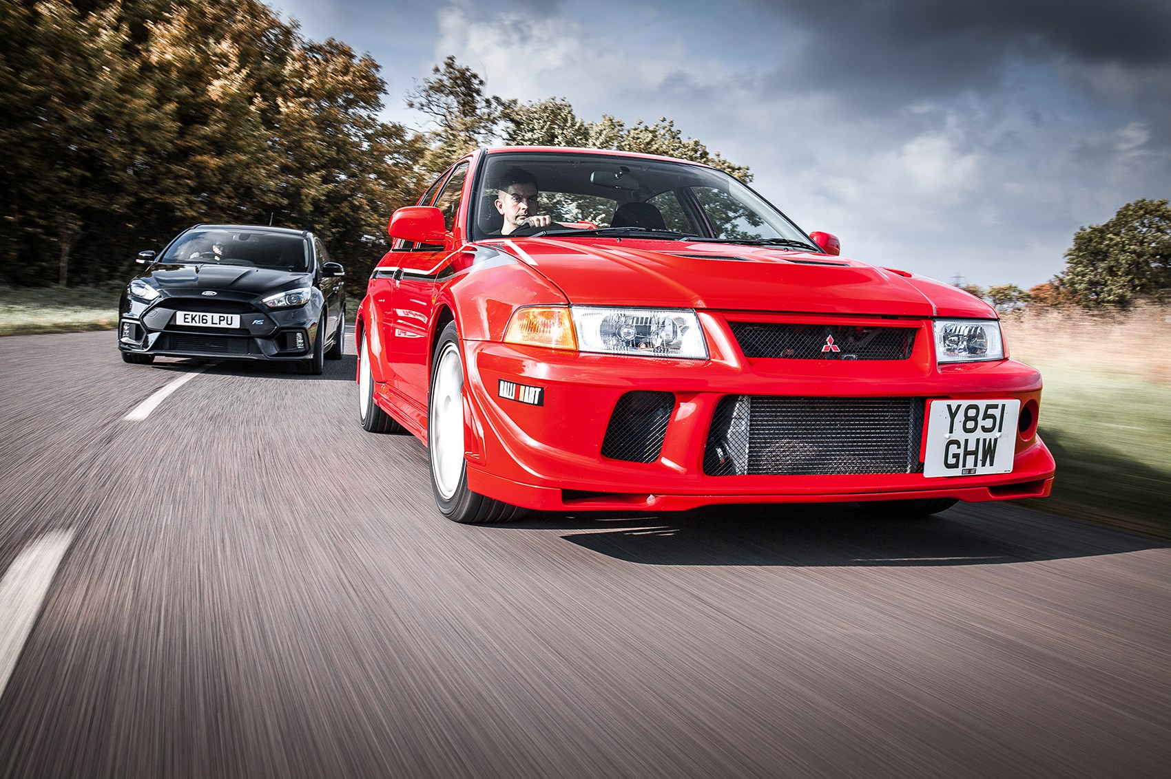 Icon Buyer New Ford Focus Rs Vs Used Mitsubishi Evo Vi By Car Magazine