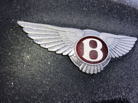 The flying B Bentley badge: we join the club for six months