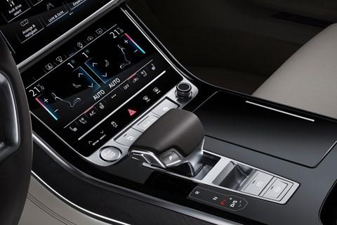 Audi A8 2017 lower screen