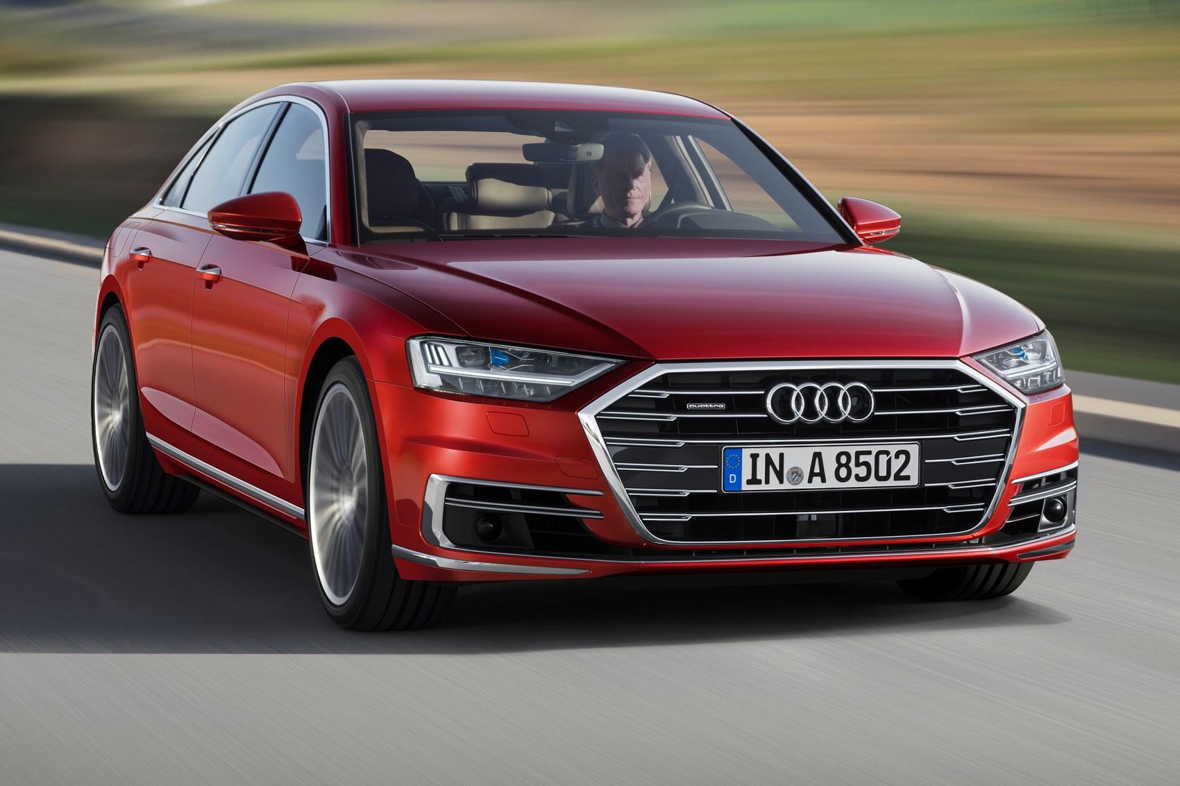 The New 2017 Audi A8 Bodyshell