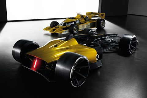 Renault R.S. 2027 Vision old vs new