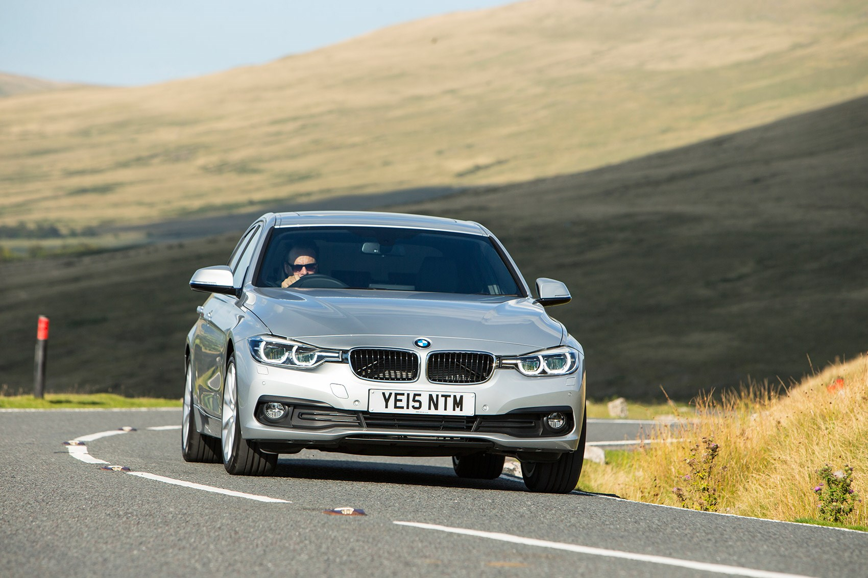 The latest BMW 320d on test ...