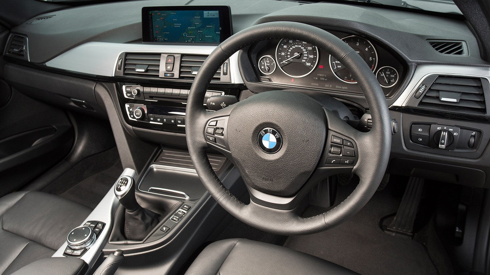 2017 Model Interior Of BMW 3 Series