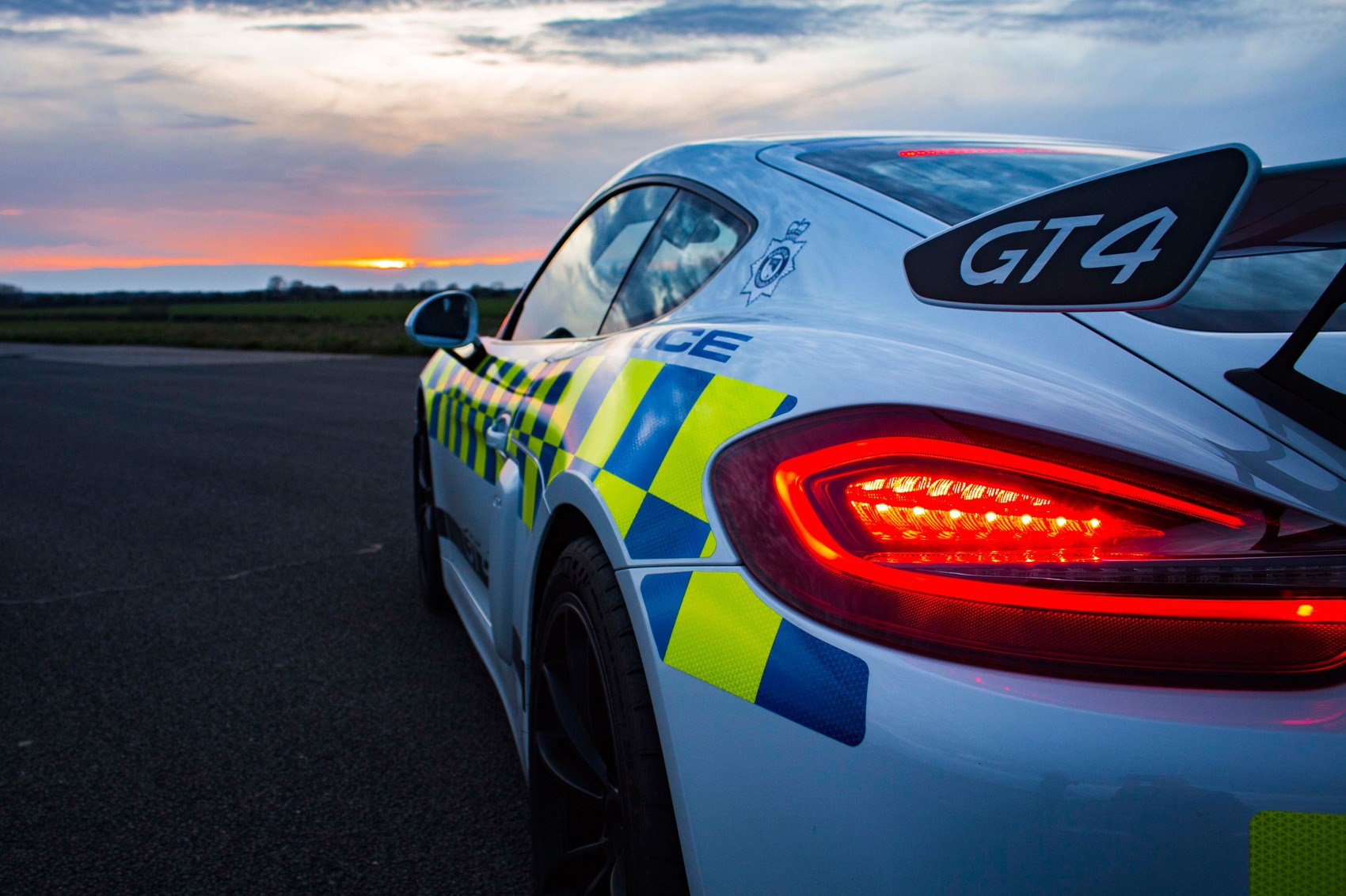 Porsche Cayman Gt4 Kitted Out For Police Duty Car Magazine