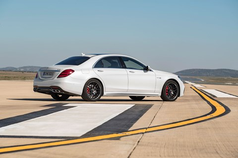Mercedes S-class 2017 unveiled in Shanghai