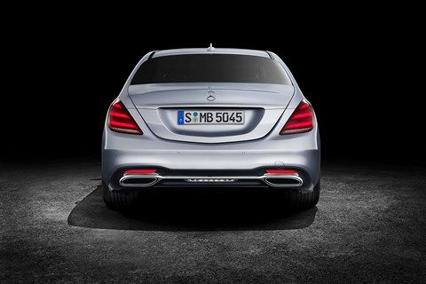Mercedes-Benz S-class facelifted for 2017