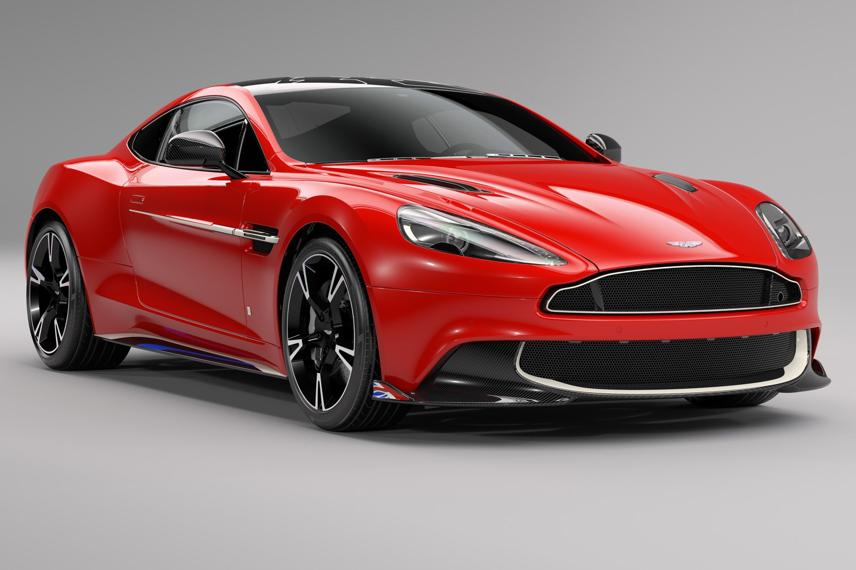 Aston Vanquish takes flight with Red Arrows Edition | CAR Magazine