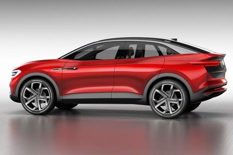 VW I.D. Crozz concept car
