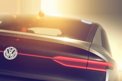 First Look at Brand-New VW I.D. Coupe-Crossover Concept