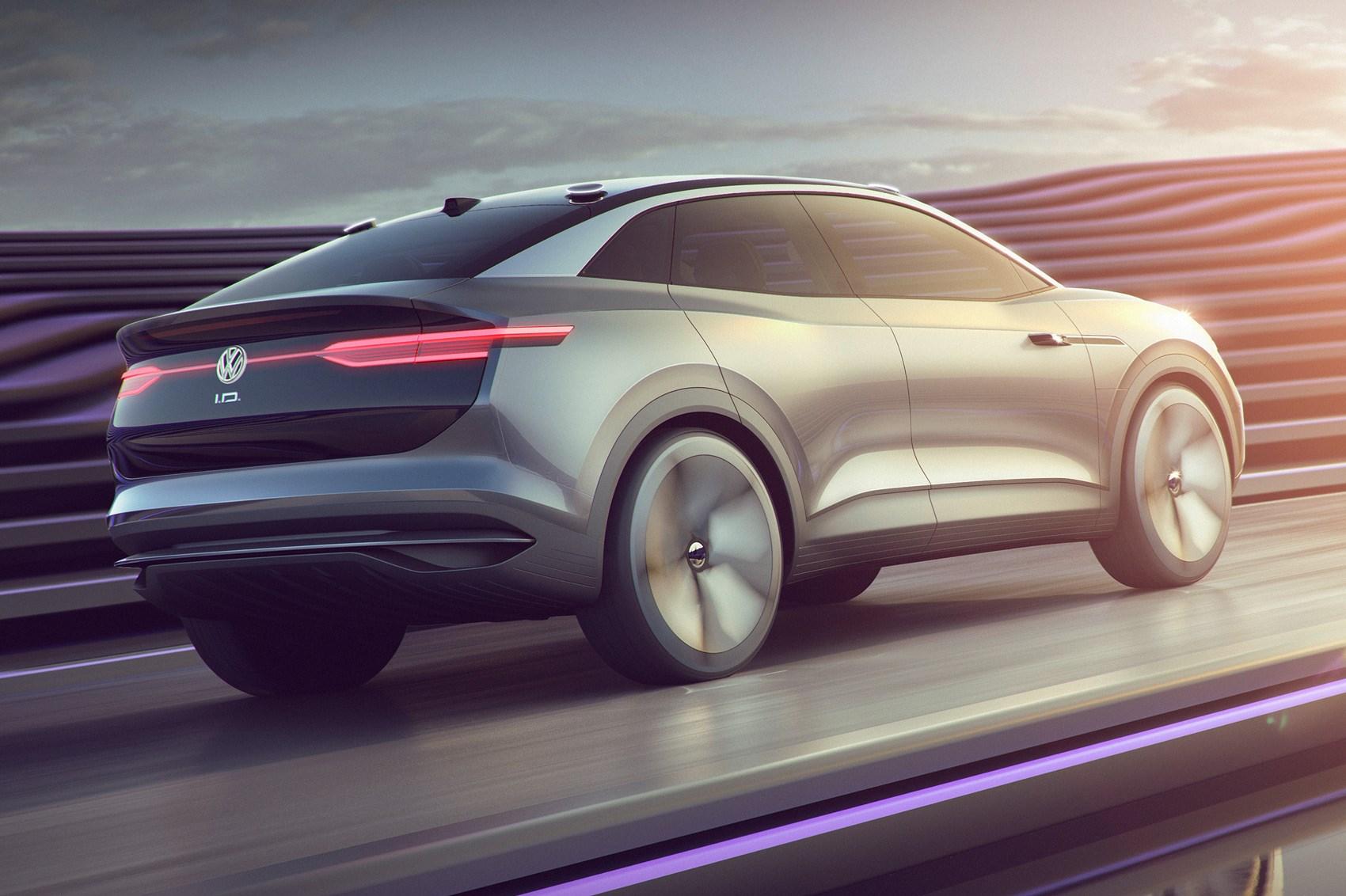 New Vw Id Crozz I D Concept Car