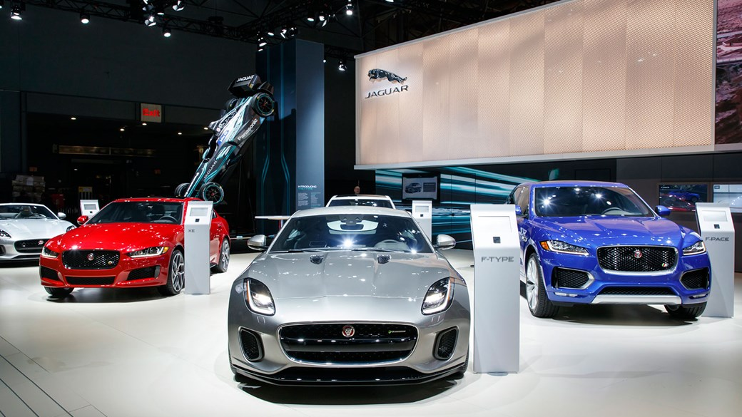 Four-cylinder Jaguar F-types are here