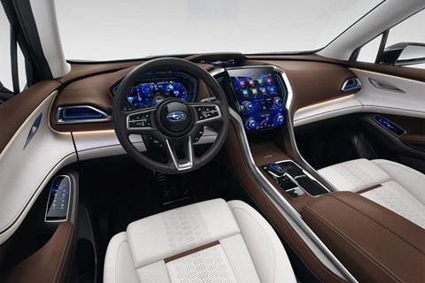 Subaru Ascent Concept interior