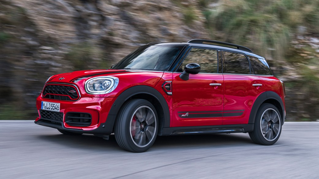 Mini John Cooper Works Countryman 2017 Review Car Magazine