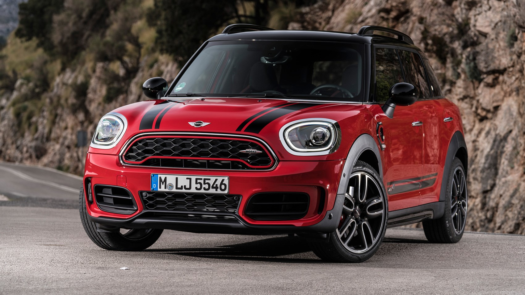 mini john cooper works countryman 2017 review by car magazine. Black Bedroom Furniture Sets. Home Design Ideas