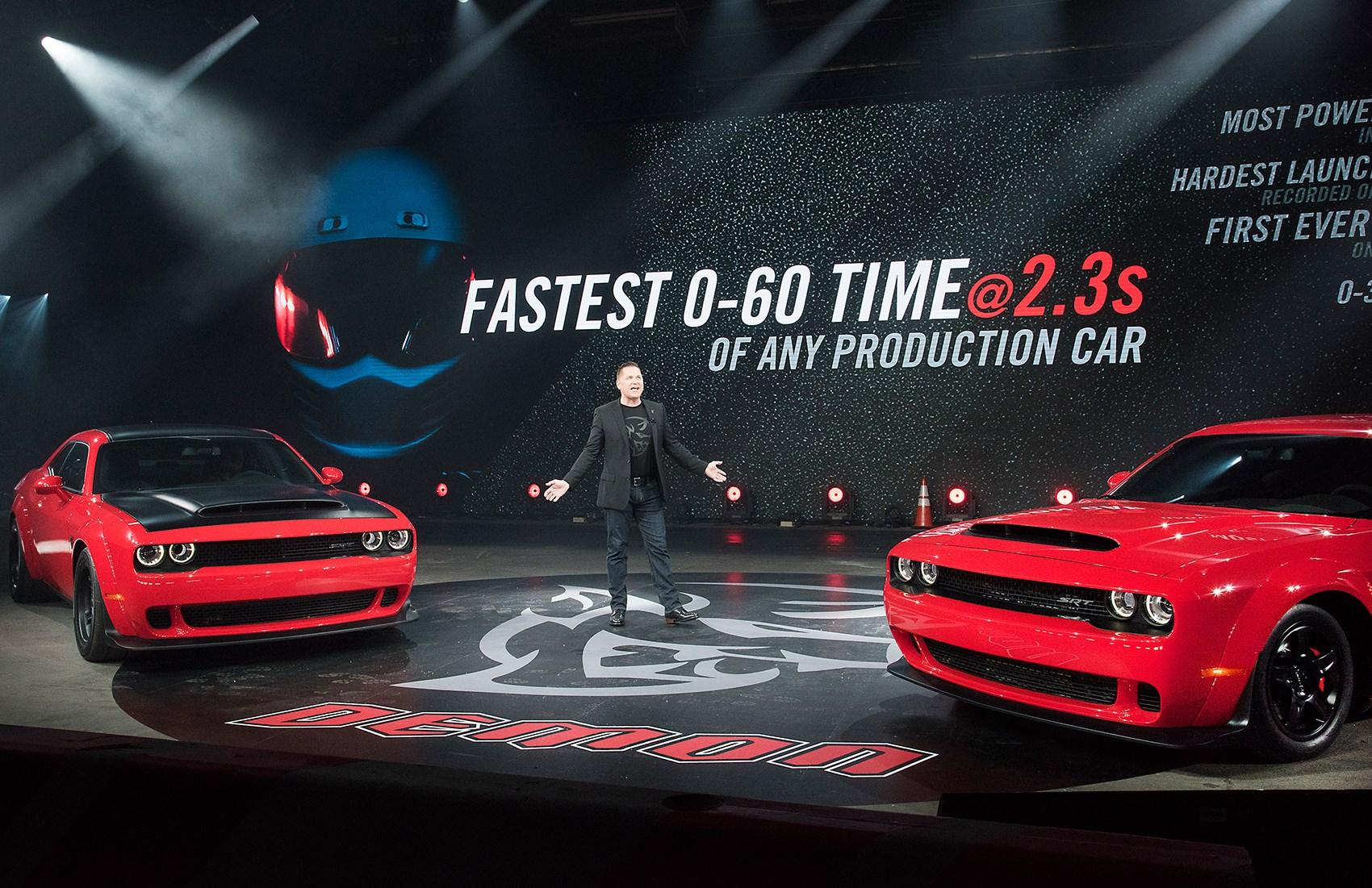 The New Dodge Challenger Srt Demon
