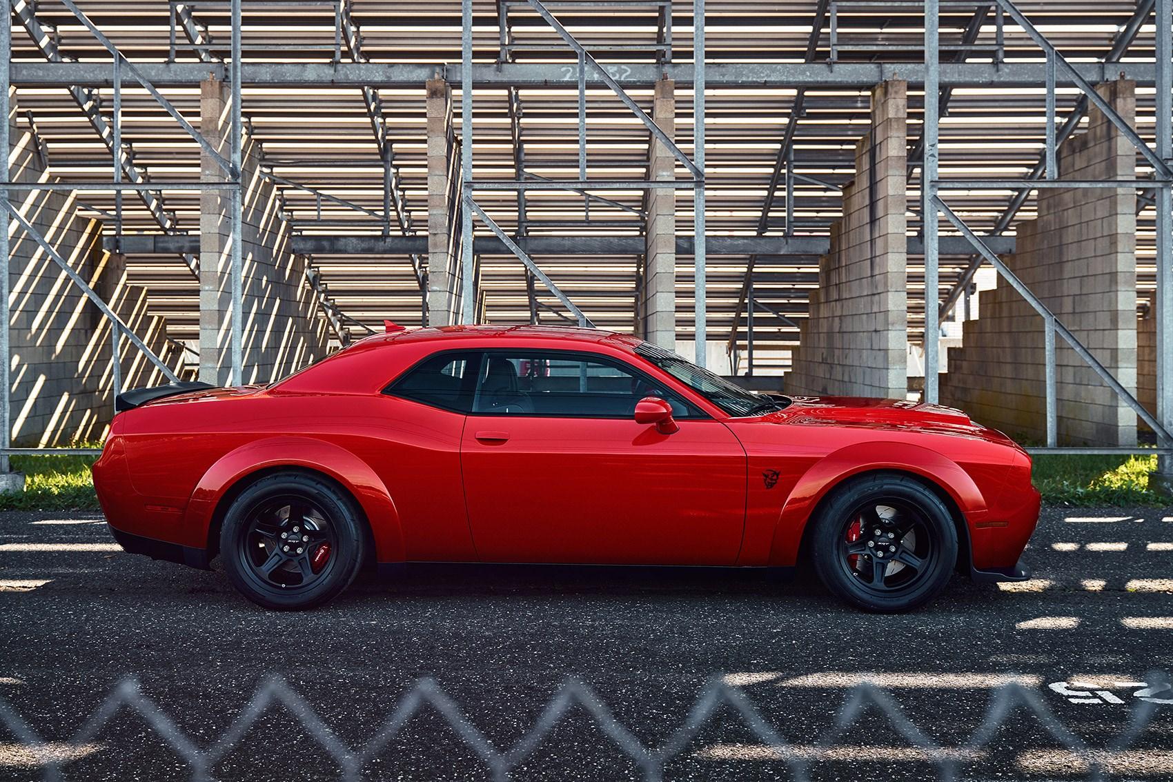 Hellcat Drivetrain In A Challenger Meet The Demon