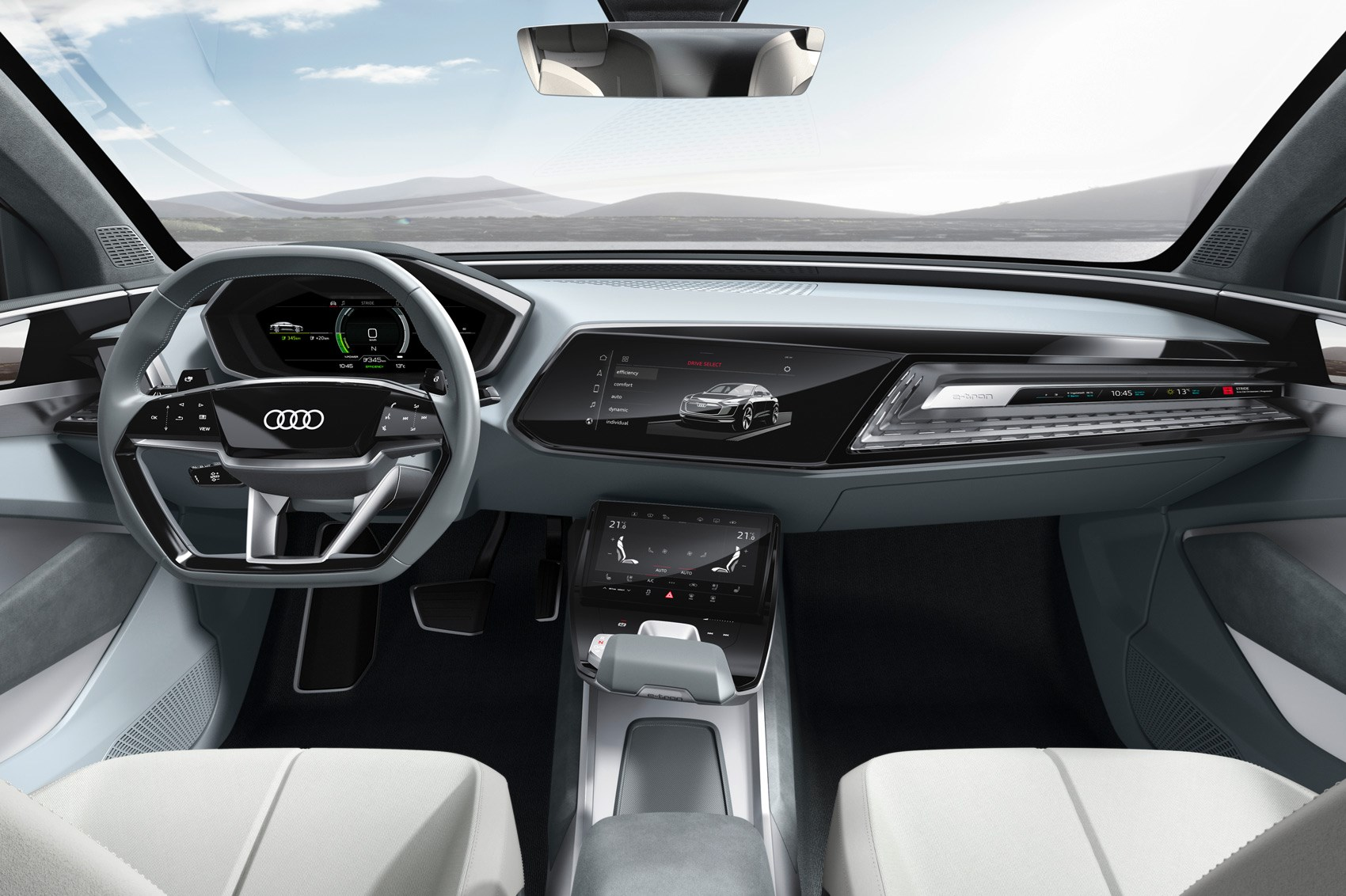 Unveiled In Shanghai The New Audi E Tron Sportback Concept Car