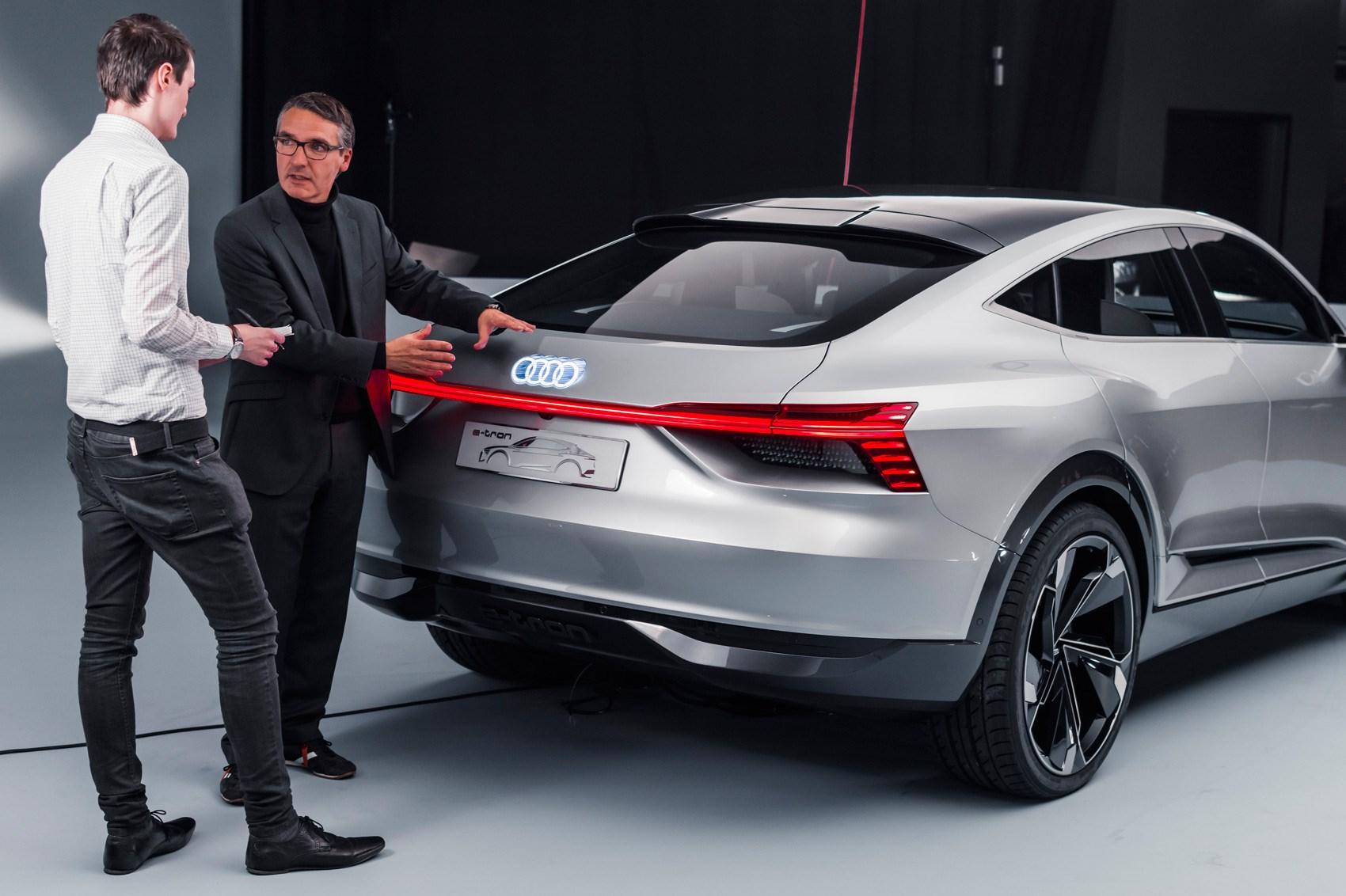 Age of e-tron: Audi e-tron Sportback concept surges EV ...