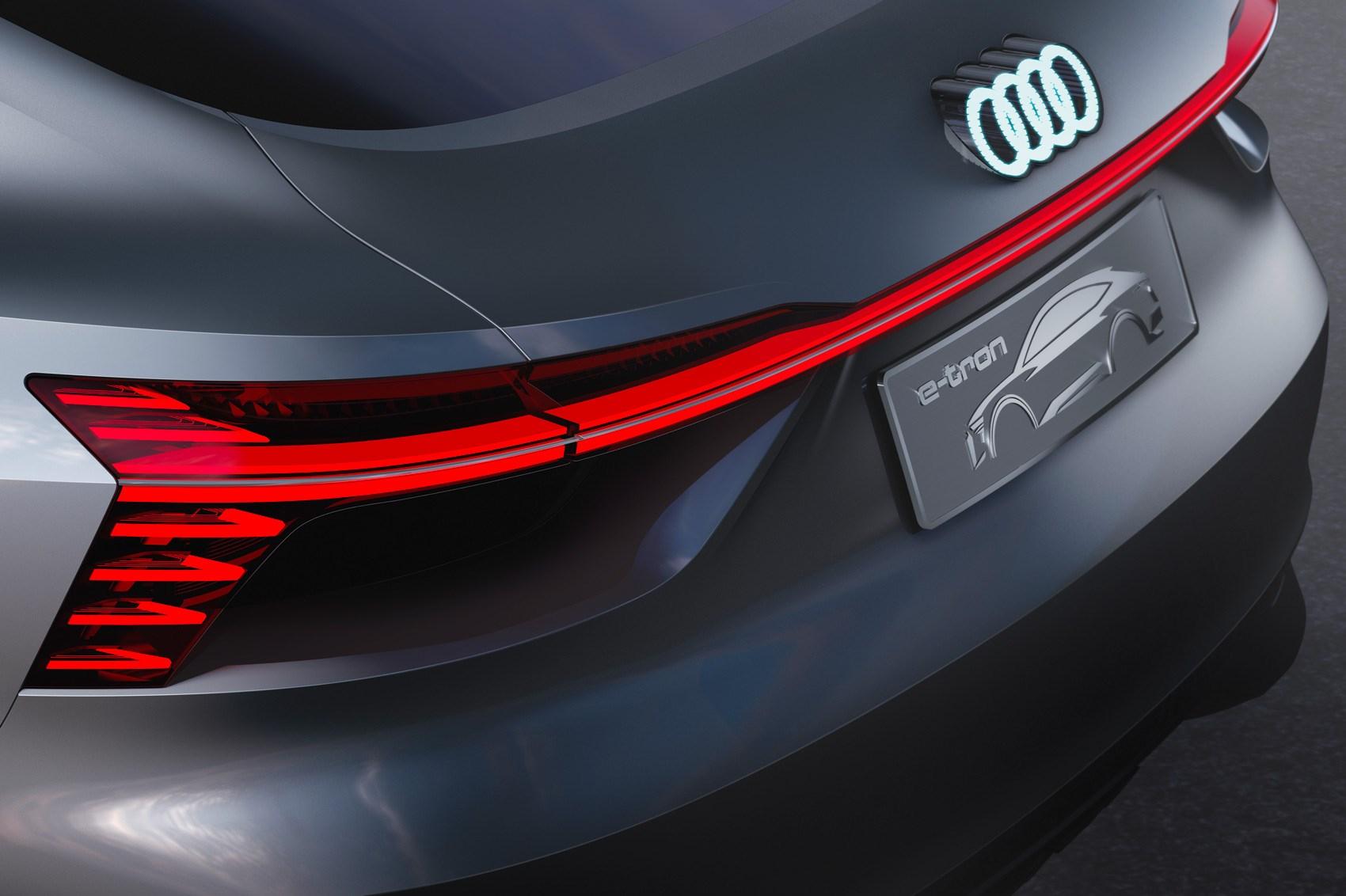 Age of e-tron: Audi e-tron Sportback concept surges EV plans forward