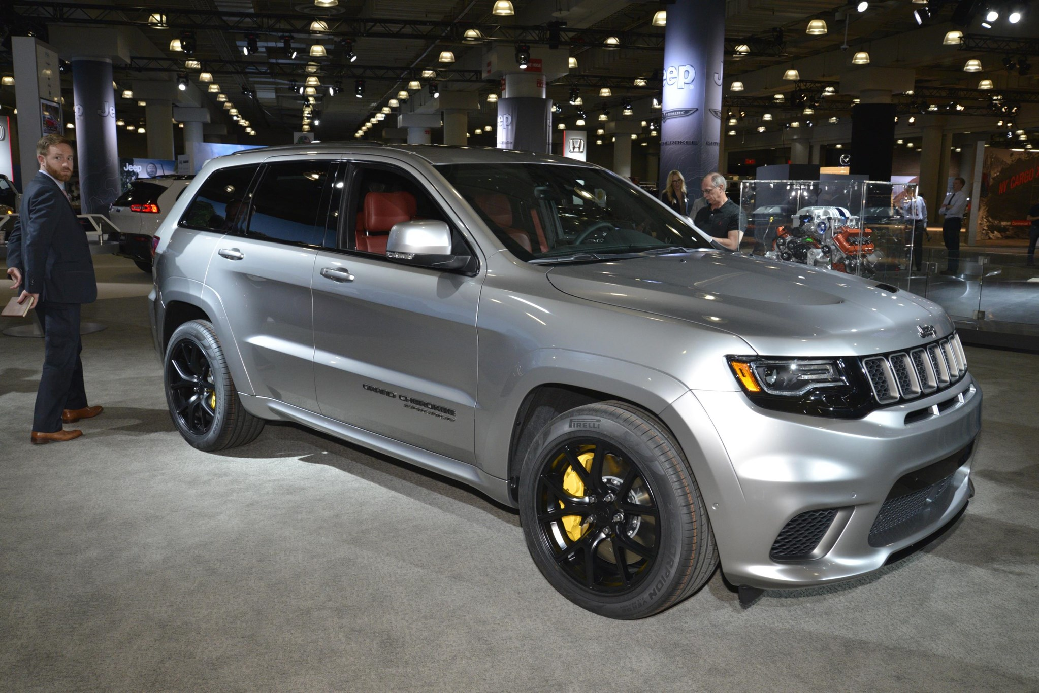 extreme machine jeep grand cherokee trackhawk the most powerful suv ever by car magazine. Black Bedroom Furniture Sets. Home Design Ideas