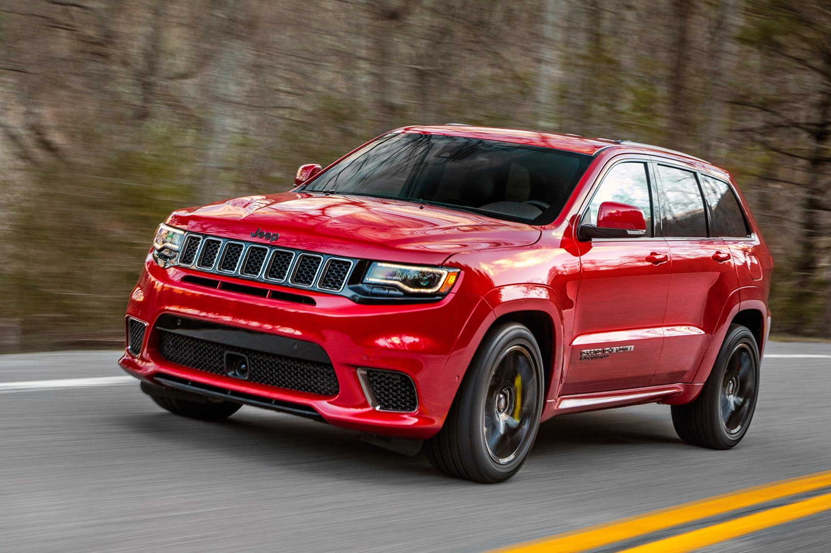 Extreme machine: Jeep Grand Cherokee Trackhawk the most powerful SUV ...