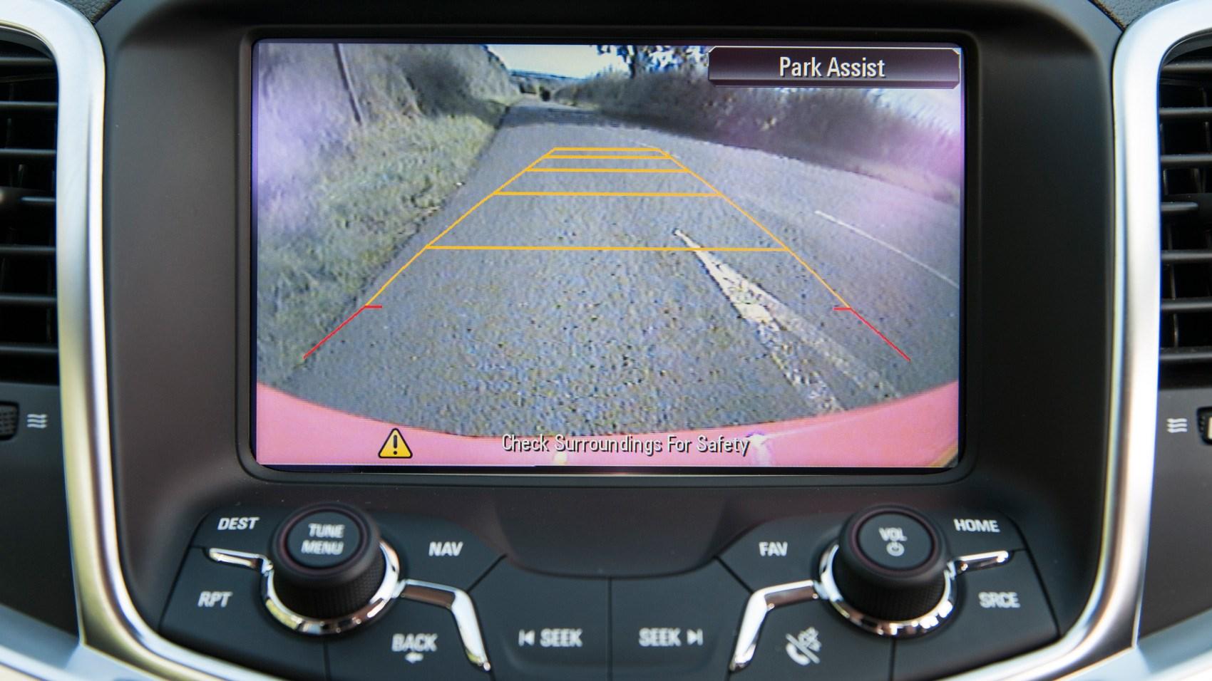 Vauxhall VXR8 Maloo reversing camera