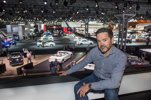 Ben Oliver at the 2017 NYIAS