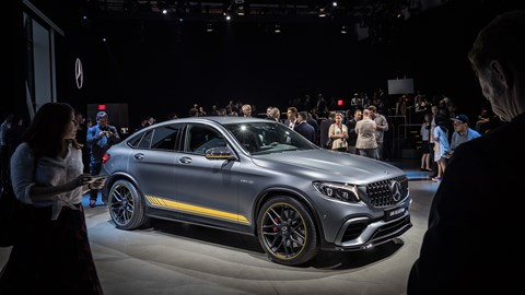 The Mercedes-AMG GLC 63 Coupe in New York