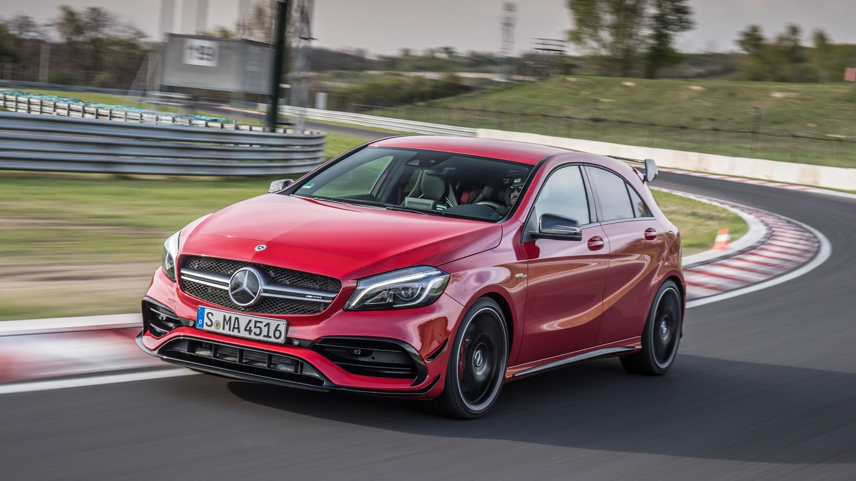 Mercedes amg a45 2017 review by car magazine for Mercedes benz a45 amg for sale