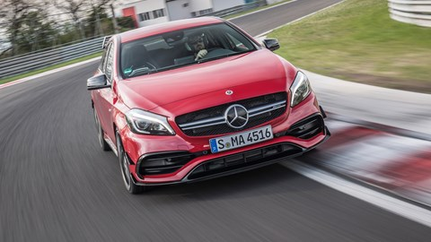 Mercedes-AMG A45 (2017) review | CAR Magazine