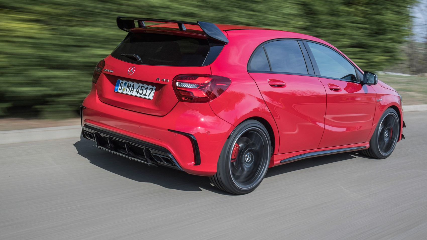 MercedesAMG A45 2017 review by CAR Magazine