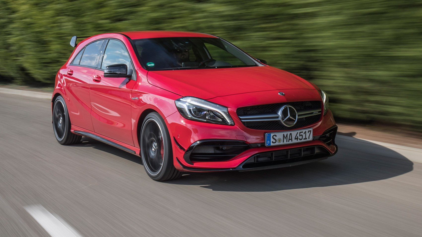 mercedes a class manual or automatic